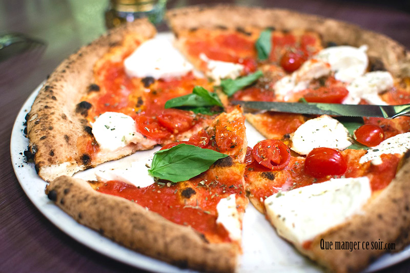 recette de pizza margherita que manger ce soir. Black Bedroom Furniture Sets. Home Design Ideas